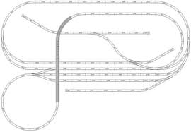model train layouts & track plans various projects, designed with  at American Flyer Track Layouts Complete With Wiring Diagrams