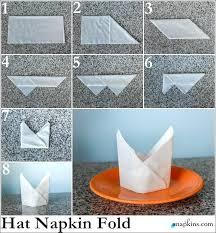 Paper Napkin Folding Flower Paper Napkin White Plain Size Folding Rose Napkins For