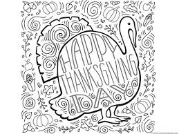 Thanksgiving Doodle Coloring Pages 1111