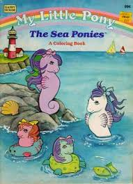 my little pony sea pony coloring book i had this one bought it at playco