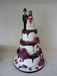 Creative Halloween Wedding Cakes Ideas 31 Vis Wed