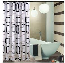 alluring gray shower curtains fabric decor with eforgift 71 inch 71 inch checked polyester fabric