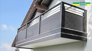 Riesige Auswahl Balkone Balkongel Nder Und Z Une Aus Aluminium