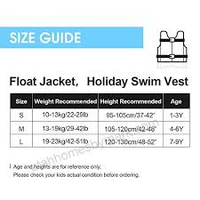 Zeraty Kids Swim Vest Life Jacket Swimming Aid For Toddlers