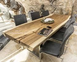 Baumstamm Esstisch Mit 350 Cm Länge