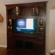 center wall unit living room custom