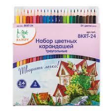 набор цветных карандашей kanzy cp 3024 мои карандаши 56558971622 24 цвета