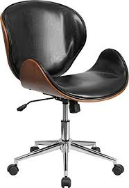 stylish desk chair. 12 Stylish And Comfortable Office Chairs / Mod Style Black Wood Desk Chair R