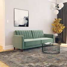 dhp pin tufted transitional futon