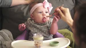 Image result for baby eating food