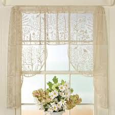 vintage lace curtains for window treatment measure width for