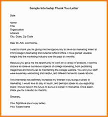 Thank You Note Examples 5 End Of Internship Thank You Note Example Shawn Weatherly