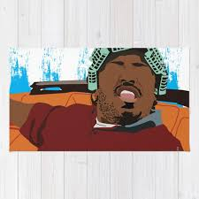big worm friday classic poster 90 s art hip hop poster home decor rug