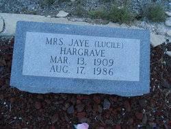 Annie Lucile Dudley Hargrave (1909-1986) - Find A Grave Memorial