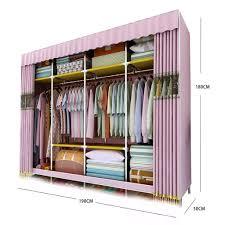 Guhaobo Kleiderschrank Stoffschrank Organisatoren Und Lagerung