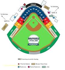 Exact Detailed Seating Chart For Pnc Park Chase Field