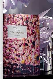 Paper Flower Perfume Dior Harrods Window Chelsea Flower Show Window 2015tenn Design Ltd