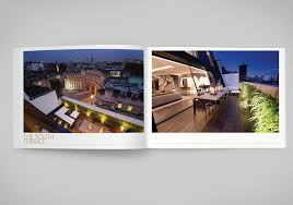 apartment brochure design. The Historic Building Was Our Inspiration For Luxury Property Branding \u2013 A Clock Face That Now Conceals Wet Room In Penthouse Apartment Brochure Design