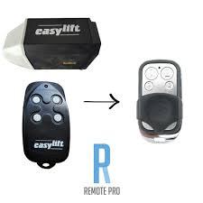 easylift easy lift compatible garage door remote control with black