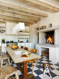 Kitchen Fireplace For Cooking Play It Safe With Your Fireplace Hgtv