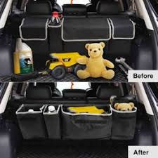 Large Capacity Universal Auto Car Trunk Organizer Rear ... - Vova