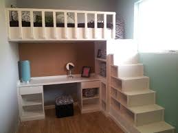 loft bed with shelves.  Loft Built In Bunk Beds For Boys Room Diy  With Stairs Girls Bed Plans  On Loft Bed With Shelves W