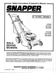 snapper lawn mower parts diagram diagram snapper dp21357b lawn mower search snapper user manuals manualsonline com