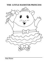 Hamster coloring pages are great for teaching children about the many different types of hamsters and their colorings. Hamsters Coloring Pages Coloring Home