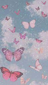 Cute Aesthetic Pink Butterfly ...