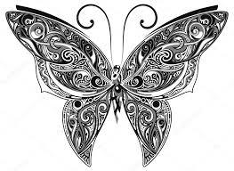 蝶々 イラスト 白黒 様々な写真のぬりえ 最高の印刷可能な着色ページ