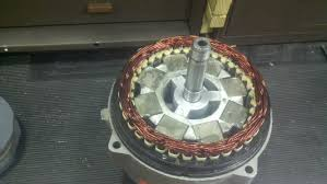 car alternator to wind pma generator stator to 8 n48 magnets