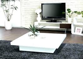 modern white coffee table large white square coffee table white square coffee table modern white square