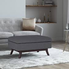 simpli home owen slate grey coffee