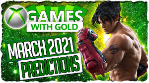 XBOX Games with Gold March 2021 ...
