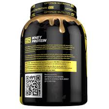 whey protein optimize nutrition