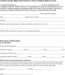 Free North Carolina Medical Release Form - Pdf | 80Kb | 1 Page(S)