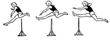 Тренировка по легкой атлетике Бег с барьером у женщин легкая атлетика