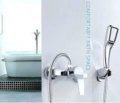bathtub handheld shower simple set bathroom shower faucets bathtub faucet mixer tap with hand shower head bathtub handheld shower