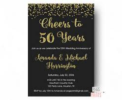 50th wedding anniversary invitations pertaining to ucwords