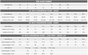 jockey size chart size guide jockey uk jockey uk