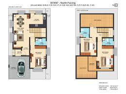 30x50 house plans 5 cozy design duplex south facing