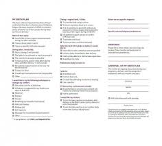 Why Is It Important To Have A Birth Plan 019 One Page Birth Plan Template The 1920x1920 Astounding