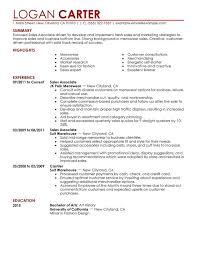 Sample Salesperson Resume Salesperson Resumes Rome Fontanacountryinn Com