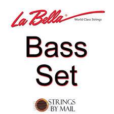 La Bella 820 Elite Flamenco Guitar Strings Mt Bass Set