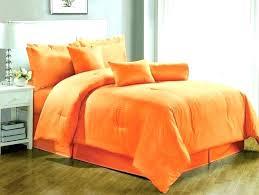 burnt orange bedding sets comforter set great king and brown or size