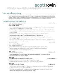 scott rovin resume sample for creative director art director and annamua