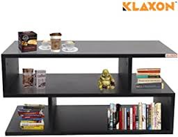 Black - Coffee Tables / Tables: Furniture - Amazon.in