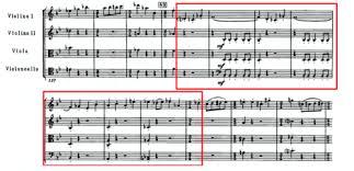 Эмоции в музыке на примере квартета № Д Д Шостакович · strings  Рис 4 i часть Концерт для виолончели №1 Д Д Шостакович op 107