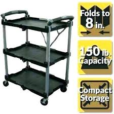 folding utility cart on wheels utility cart wheels folding garden cart
