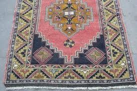 pink turkish rug rug vintage handmade wool pink navy office hot pink turkish rug pink